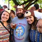 Bloco Papai urso (Larissa dos Santos, Paulo Gomes  e Julianne de Carvalho) - Foto  Áurea cunha