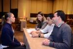 Trilheiros impressionaram entrevistadores - Foto Marcos Labanca