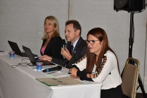 Integrantes do Conselho Regional de Contabilidade conduzem a plenária do órgão - foto Assessoria