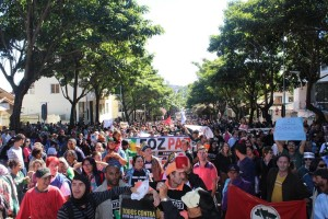 Educadores fortalecem protestos contra a reforma da Previdência - foto Marcos Labanca