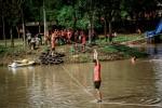 Atravessar açudes será um desafio aos corredores - Foto divulgação