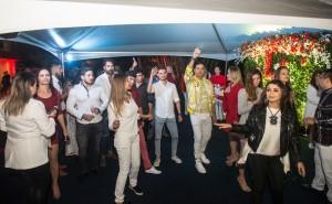Noite terminou com música e diversão - foto Marcos Labanca