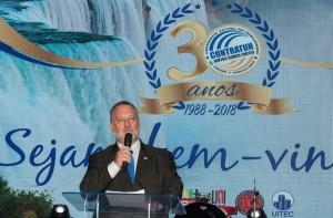 Presidente Moacyr Auersvald foi o anfitrião do evento. Foto Marcos Labanca.jpeg