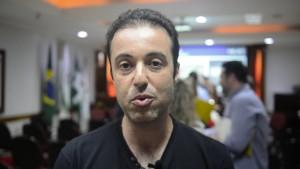 Wisam Osman, diretor da loja Macedônia - foto Marcos Labanca