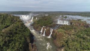 Parque Nacional do Iguaçu, que abriga as Cataratas do Iguaçu, deverá receber 300 mil visitantes na alta temporada 2018-2019 - foto Marcos Labanca
