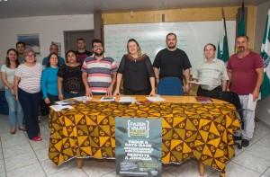 Educadores da base e da direção da APP-Sindicato-Foz - foto Marcos Labanca