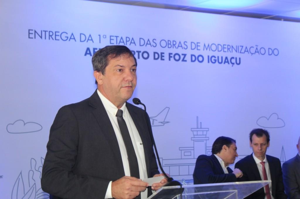Chico Brasileiro, prefeito de Foz do Iguaçu