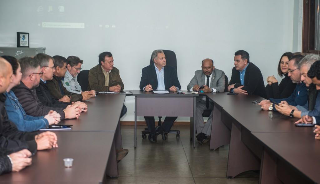 Diretoria foi eleita por aclamação pelaplenária do Conselho Municipal de Turismo. Foto: Marcos Labanca