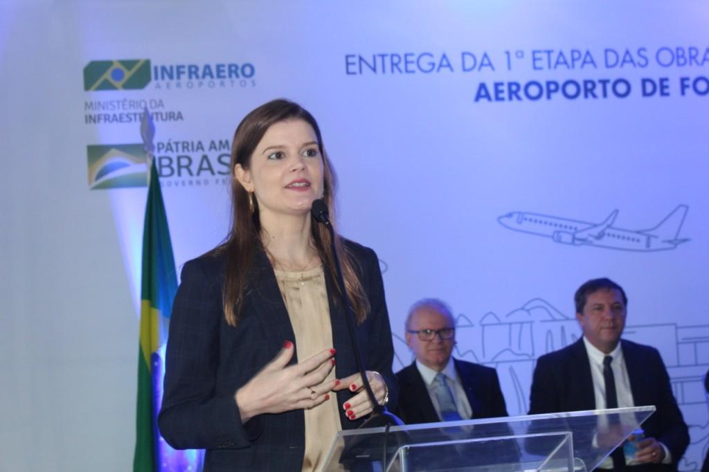 Martha Seillier, presidente da Infraero