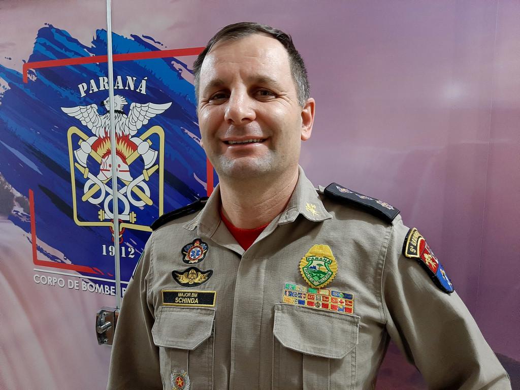 Major Antonio Schinda - Foto Adilson Borges