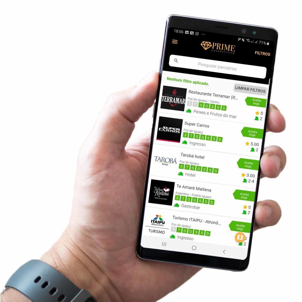 O aplicativo da versão de Foz do Iguaçu já está disponível para Android e para iPhone