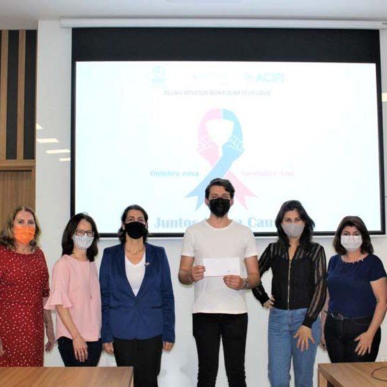 Campanha Outubro Rosa e Novembro Azul divulga vencedor da arte promocional